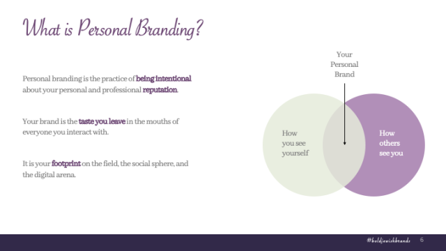 What is Personal Branding Elisheva Thompson